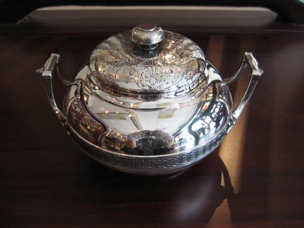 Tiffany Silver Tea Set 044
